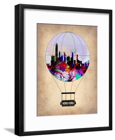 Hong Kong Air Balloon-NaxArt-Framed Art Print