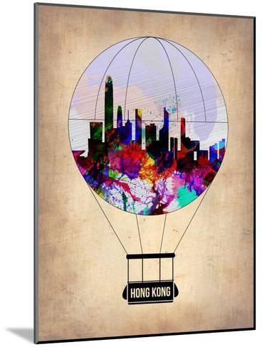 Hong Kong Air Balloon-NaxArt-Mounted Art Print