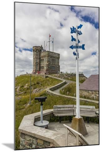 Cabot Tower, Signal Hill National Historic Site, St. John'S, Newfoundland, Canada, North America-Michael Nolan-Mounted Photographic Print