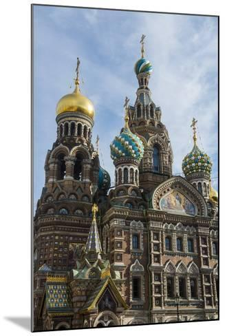 Church of the Saviour on Spilled Blood, UNESCO World Heritage Site, St. Petersburg, Russia, Europe-Michael Runkel-Mounted Photographic Print