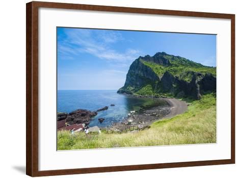 Ilchulbong Tuff Cone, Sunrise Peak, Island of Jejudo, UNESCO World Heritage Site, South Korea, Asia-Michael Runkel-Framed Art Print