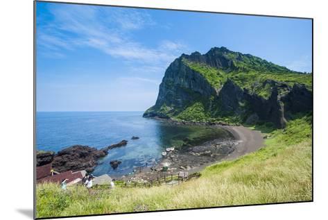 Ilchulbong Tuff Cone, Sunrise Peak, Island of Jejudo, UNESCO World Heritage Site, South Korea, Asia-Michael Runkel-Mounted Photographic Print