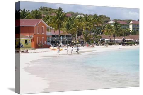 Pineapple Beach Club, Long Bay, Antigua, Leeward Islands, West Indies, Caribbean, Central America-Robert Harding-Stretched Canvas Print