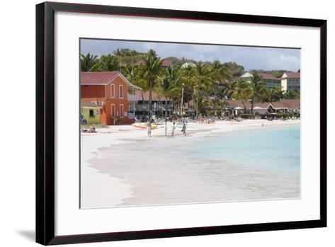 Pineapple Beach Club, Long Bay, Antigua, Leeward Islands, West Indies, Caribbean, Central America-Robert Harding-Framed Art Print