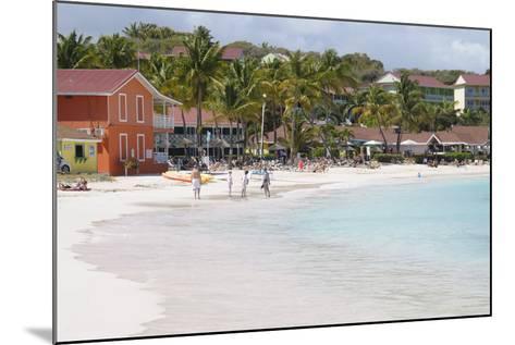 Pineapple Beach Club, Long Bay, Antigua, Leeward Islands, West Indies, Caribbean, Central America-Robert Harding-Mounted Photographic Print