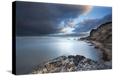 Fife Coast at Dusk Near St. Andrews, Fife, Scotland, United Kingdom, Europe-Mark-Stretched Canvas Print