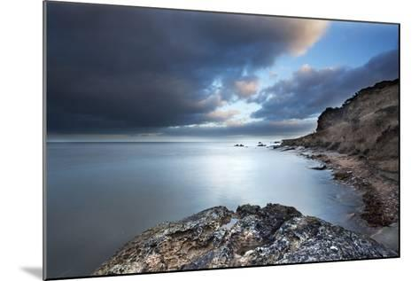 Fife Coast at Dusk Near St. Andrews, Fife, Scotland, United Kingdom, Europe-Mark-Mounted Photographic Print
