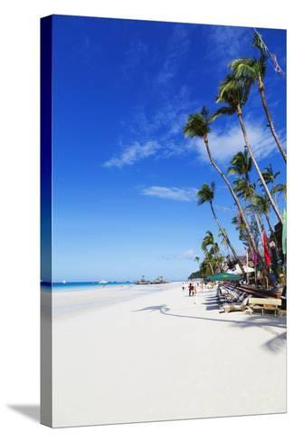 White Beach, Boracay Island, the Visayas, Philippines, Southeast Asia-Christian-Stretched Canvas Print
