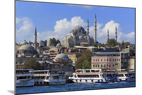 Sulemaniye Mosque, Eminonu and Bazaar District, Istanbul, Turkey, Europe- Richard-Mounted Photographic Print