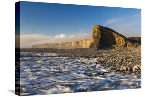 Nash Point, Glamorgan Heritage Coast, Wales, United Kingdom, Europe-Billy-Stretched Canvas Print