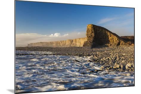 Nash Point, Glamorgan Heritage Coast, Wales, United Kingdom, Europe-Billy-Mounted Photographic Print