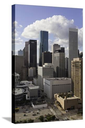 Downtown City Skyline, Houston, Texas, United States of America, North America-Gavin-Stretched Canvas Print