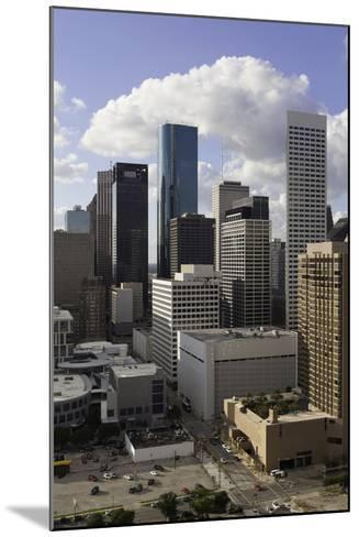 Downtown City Skyline, Houston, Texas, United States of America, North America-Gavin-Mounted Photographic Print