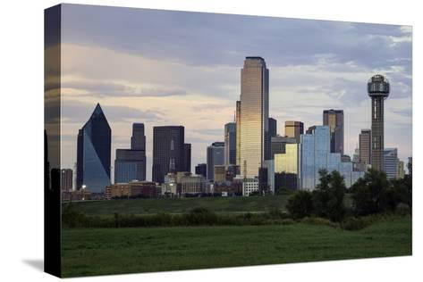 Dallas City Skyline and the Reunion Tower, Texas, United States of America, North America-Gavin-Stretched Canvas Print