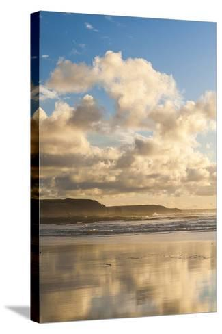 Constantine Bay at Sunset, Cornwall, England, United Kingdom, Europe-Matthew-Stretched Canvas Print