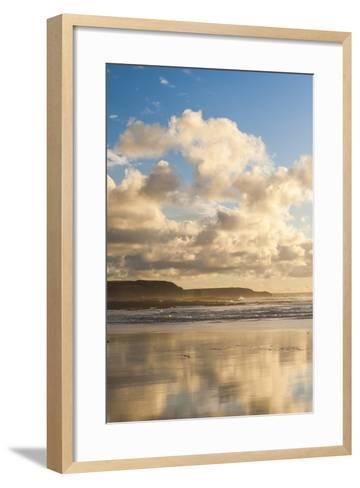 Constantine Bay at Sunset, Cornwall, England, United Kingdom, Europe-Matthew-Framed Art Print