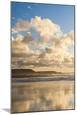 Constantine Bay at Sunset, Cornwall, England, United Kingdom, Europe-Matthew-Mounted Photographic Print