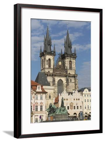 Old Town Square (Staromestske Namesti) and Tyn Cathedral (Church of Our Lady before Tyn)-Angelo-Framed Art Print