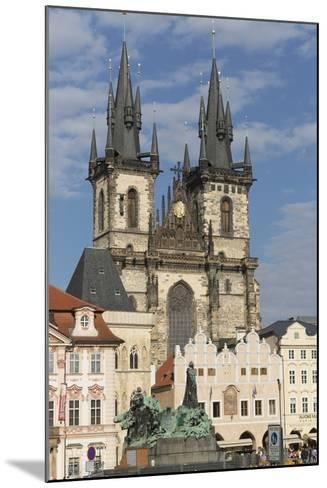 Old Town Square (Staromestske Namesti) and Tyn Cathedral (Church of Our Lady before Tyn)-Angelo-Mounted Photographic Print