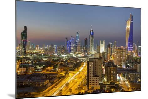 Elevated View of the Modern City Skyline and Central Business District-Gavin-Mounted Photographic Print