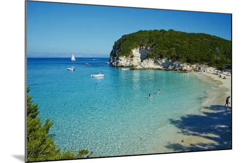 Vrika Beach, Antipaxos, Antipaxi, Ionian Islands, Greek Islands, Greece, Europe-Tuul-Mounted Photographic Print