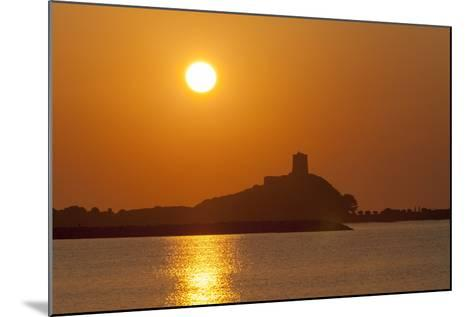 Nora Sunrise over Harbour, Near Pula, Cagliari Province, Sardinia, Italy, Mediterranean, Europe-John Miller-Mounted Photographic Print