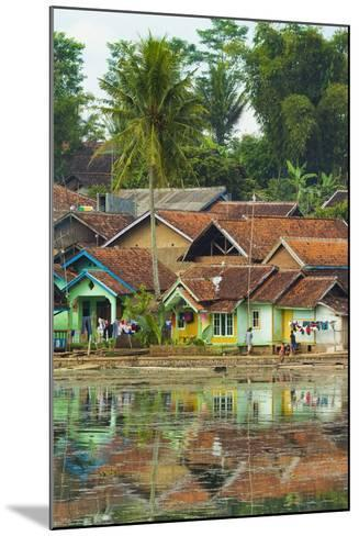 Traditional Homes and Situ Cangkuang Lake at This Village known for its Hindu Temple- Rob-Mounted Photographic Print