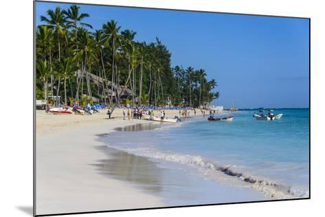 Beach of Bavaro, Punta Cana, Dominican Republic, West Indies, Caribbean, Central America-Michael-Mounted Photographic Print