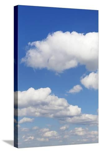 Cumulus Clouds, Blue Sky, Summer, Germany, Europe-Markus-Stretched Canvas Print