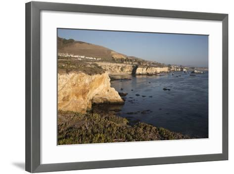 Rocky Coastline Looking Towards Pismo Beach-Stuart-Framed Art Print