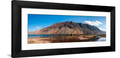 The Screes and Wastwater-James Emmerson-Framed Art Print