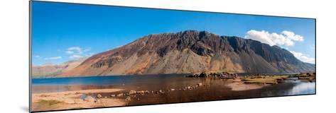 The Screes and Wastwater-James Emmerson-Mounted Photographic Print