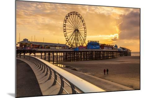 The Pier, Blackpool, Lancashire, England, United Kingdom, Europe-Billy-Mounted Photographic Print