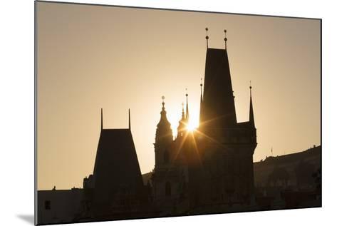 Old Town Bridge Tower, Prague, Czech Republic, Europe-Angelo-Mounted Photographic Print