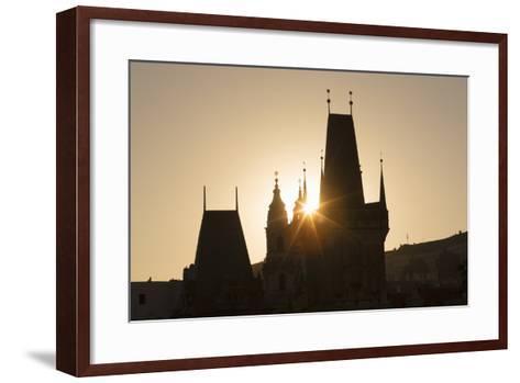 Old Town Bridge Tower, Prague, Czech Republic, Europe-Angelo-Framed Art Print