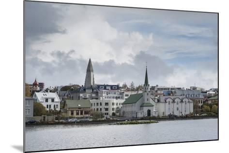 Reykjavik, Iceland, Polar Regions-Michael-Mounted Photographic Print