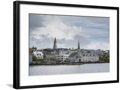 Reykjavik, Iceland, Polar Regions-Michael-Framed Art Print