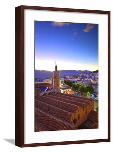 Chefchaouen, Morocco, North Africa, Africa-Neil-Framed Art Print