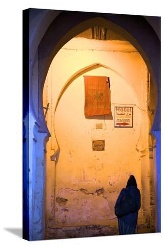 Medina, Fez, Morocco, North Africa, Africa-Neil-Stretched Canvas Print