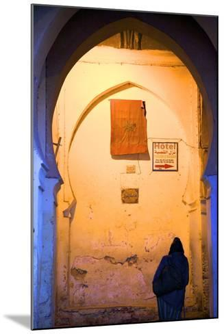 Medina, Fez, Morocco, North Africa, Africa-Neil-Mounted Photographic Print