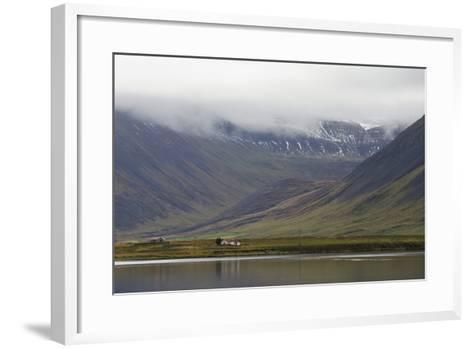 Onundarfjordur, West Fjords, Iceland, Polar Regions-Michael-Framed Art Print