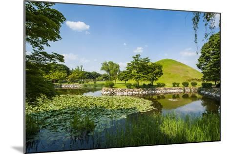 Tumuli Park with its Tombs from the Shilla Monarchs-Michael-Mounted Photographic Print