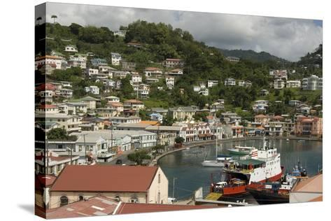 The Carenage (The Old Harbour)-Tony-Stretched Canvas Print
