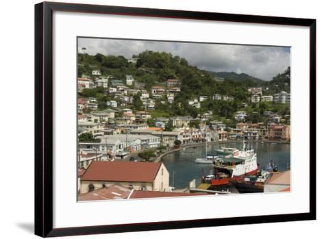 The Carenage (The Old Harbour)-Tony-Framed Art Print