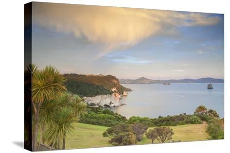 Cathedral Cove Marine Reserve (Te Whanganui-A-Hei) at Sunrise- Ian-Stretched Canvas Print