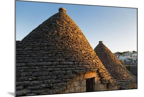 Roof of Traditional Trullos (Trulli) in Alberobello-Martin-Mounted Photographic Print