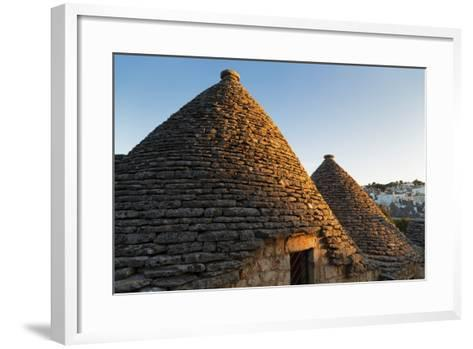 Roof of Traditional Trullos (Trulli) in Alberobello-Martin-Framed Art Print