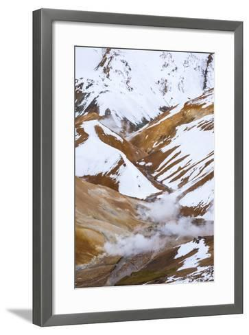 Hveradalir Geothermal Area, Iceland, Polar Regions-Michael-Framed Art Print