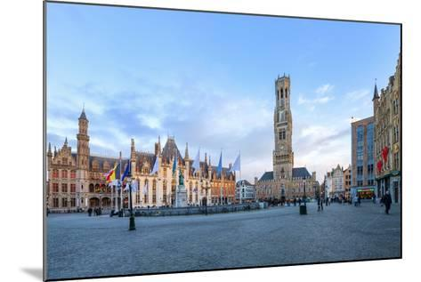 Market Square and the Belfry-G&M-Mounted Photographic Print