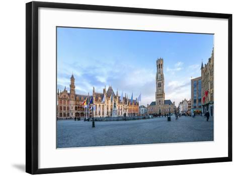 Market Square and the Belfry-G&M-Framed Art Print
